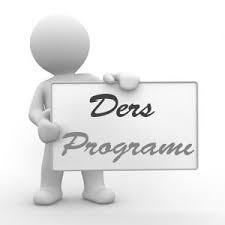 2021-2022 Yılı Güz Yarıyılı Ders Programları ve Eğitim Modeli Hakkında
